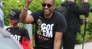 Raptors President, Masai Ujiri Is All Smiles At Toronto Raptors Nba Championship Parade Amidst Possible Assault Case