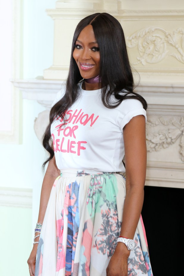 Naomi Campbell is Fashion ICon