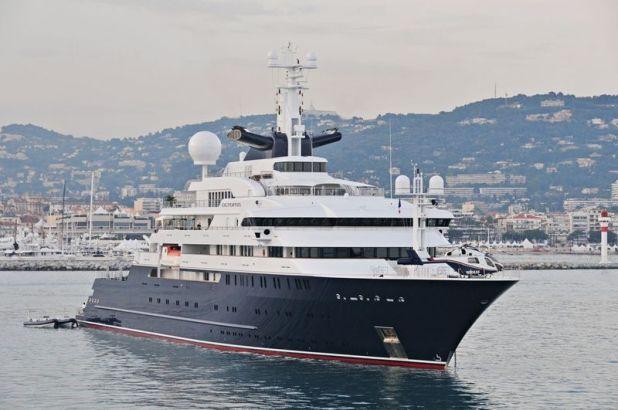 Paul Allen's Super Yachty