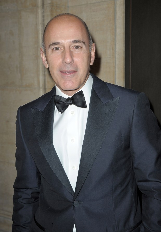 Matt Lauer talks allegations
