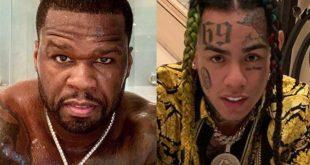 50 Cent and tekashi69