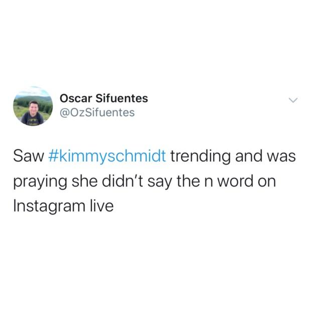 Kimmy Schmidt Plot