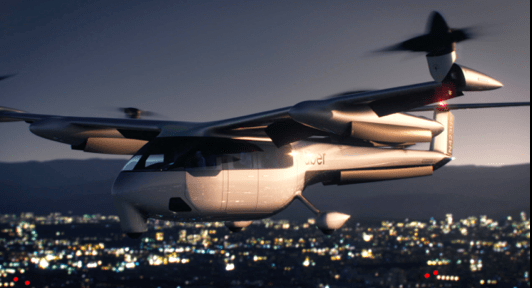 Flying Taxi for Uber