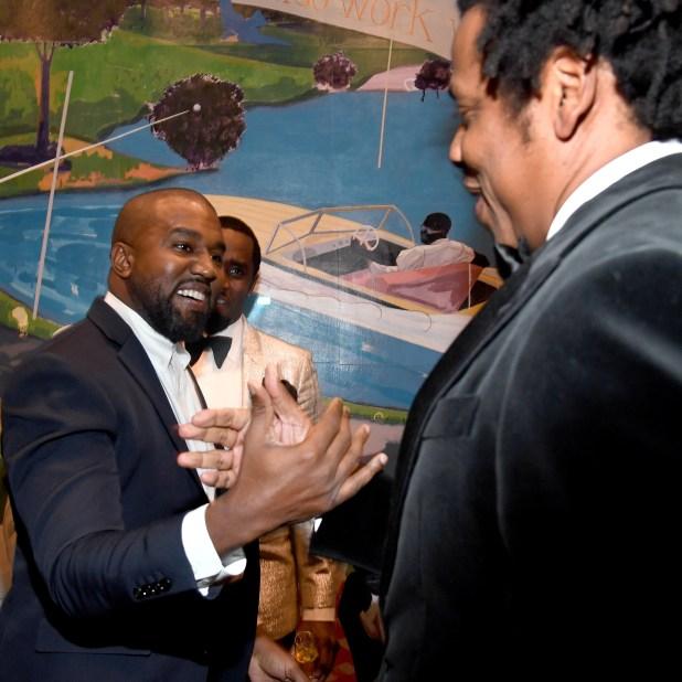 Jay and Kanye West