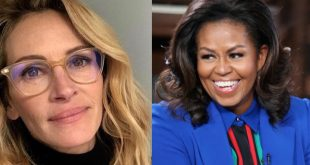 Julia Roberts and Michelle Obama
