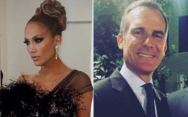 Jennifer Lopez and Mayor
