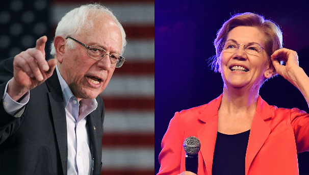 Bernie vs Elizabeth Warren