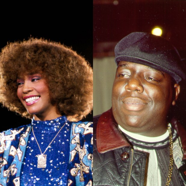 Whitney & Biggie for Hall of FAme