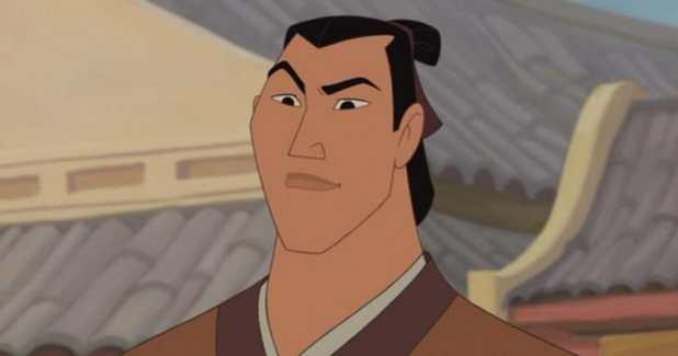 No Li Shang in Mulan