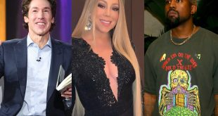 Joel Osteen Joins Mariah and Kanye