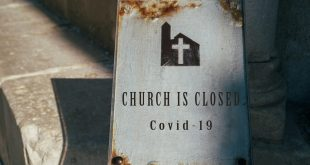 Church is closed for COvid