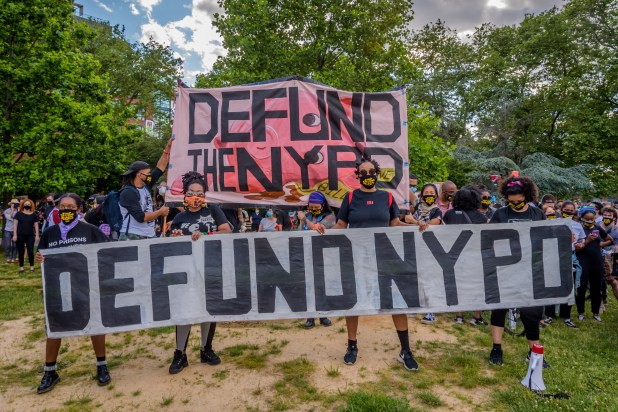 defund the nypd