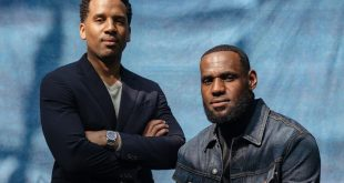 LeBron James and Maverick Carter