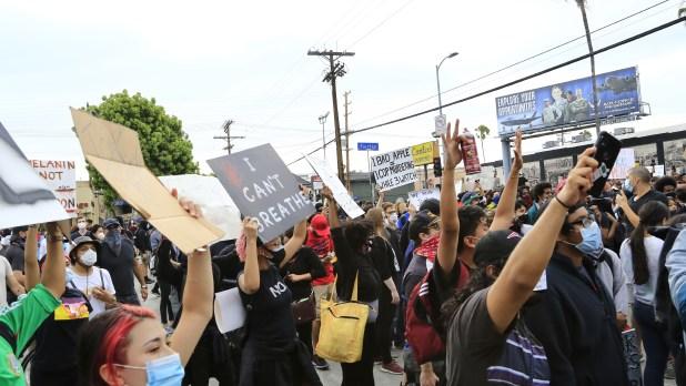 Protests In La