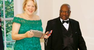 Clarence Thomas and Wife