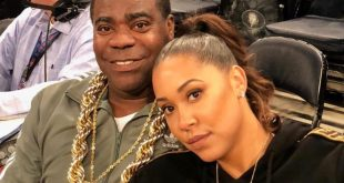 Tracy Morgan and Wife
