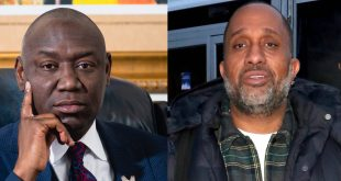 Kenya Barris and Ben Crump