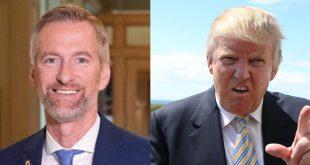 Portland mayor vs Trump