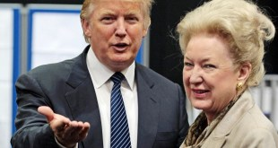 Donald Trump and Maryanne Trump Barry