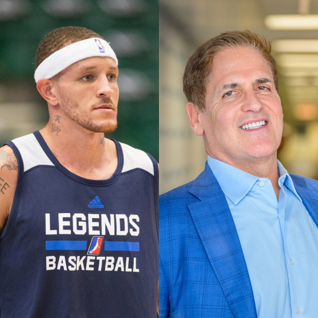 Mark Cuban and Delonte West