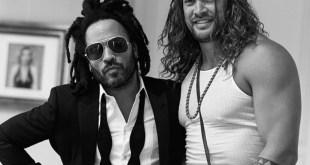 Lenny Kravitz and Jason Momoa