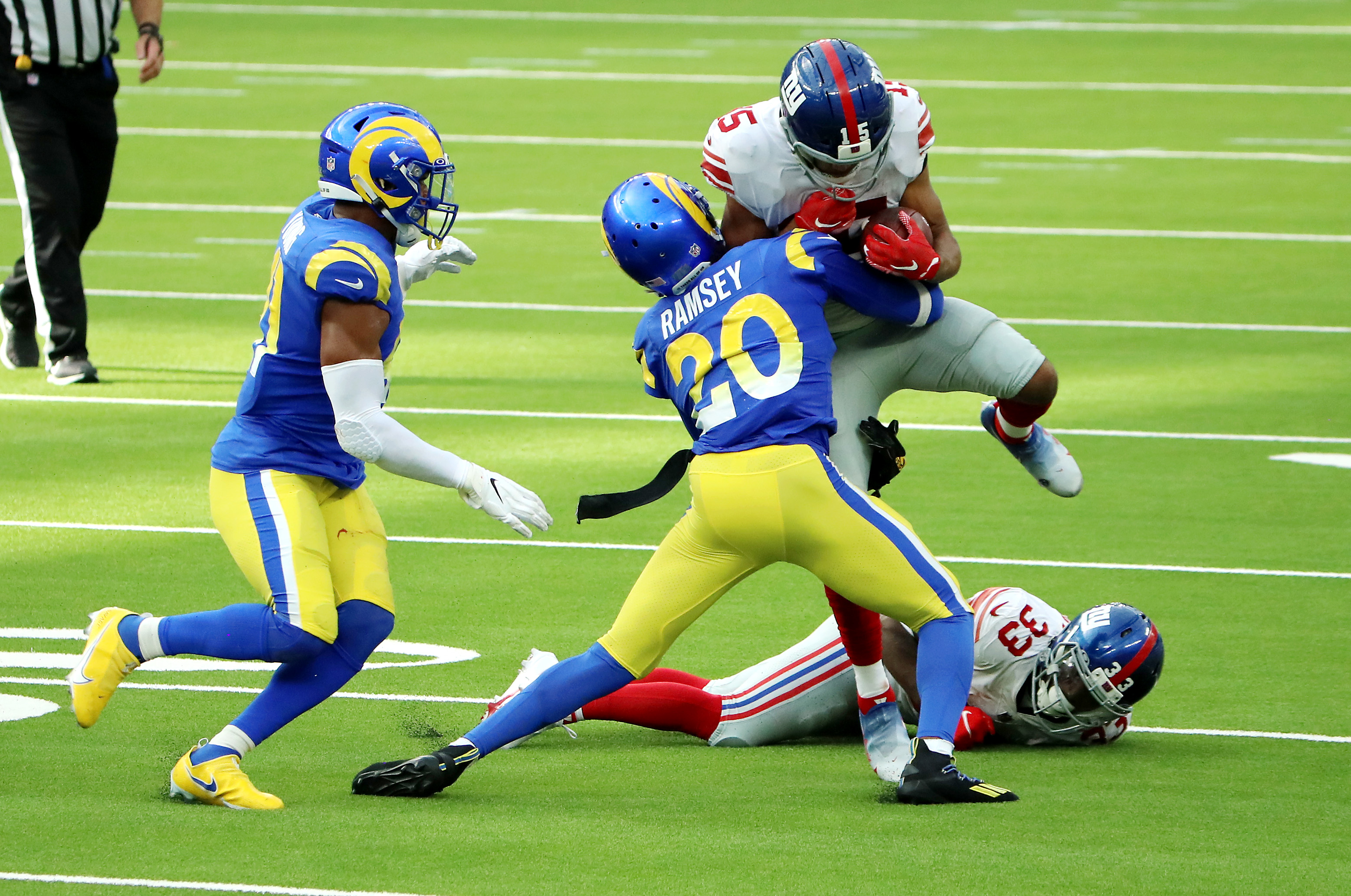 Ramsey, Tate throw punches at midfield after game