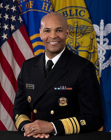 U.S. Surgeon General Jerome Adams,