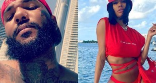 The Game Gives Teyana Taylor A Message About Her Career