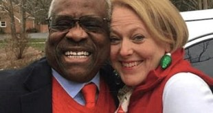 Supreme Justice Clarence Thomas and Wife Ginni Thomas