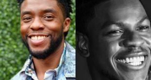 Chadwick Boseman and John Boyega