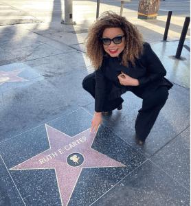 Oscar-Winning Costume Designer Ruth E. Carter Receives Star On The Hollywood Walk of Fame; Makes History Again - Baller Alert