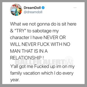 dream doll tweet