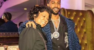 big sean and mom
