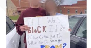 racist promposal