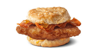 McDonalds crispy chicken bacon biscuit