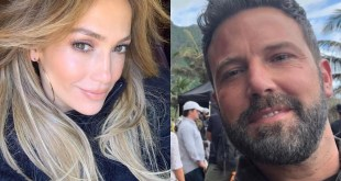 Jennifer Lopez and Ben Affleck (IG Selfies)