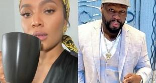 Teairra Mari and 50 Cent (IG Selfies)