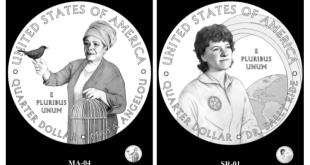 maya angelou and sally ride quarters