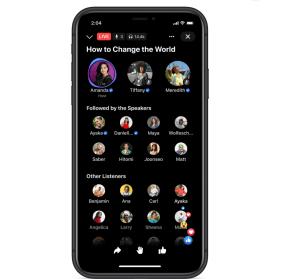 Facebook's Live Audio Rooms