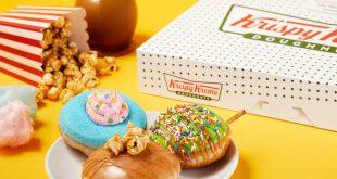 Krispy Kreme's new Carnival Collection.
