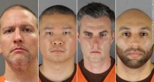 Thomas Lane, J. Keung, Tou Thao, and Derek Chauvin,