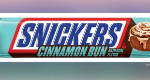 snickers cinnamon bun
