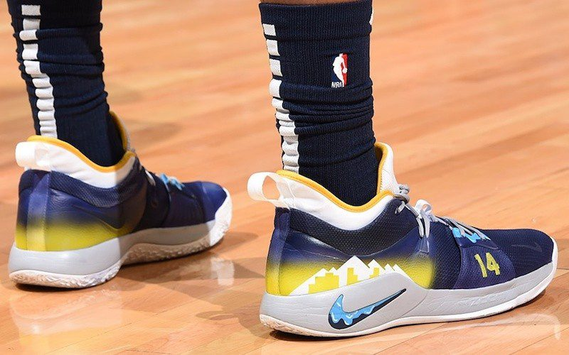 Nike PG 2 NBA Shoes Database