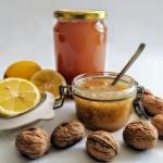 Honig-Walnüsse-Zitrone Powermix Rezept