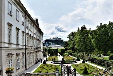 Der bezaubernde Mirabell Garten im Herzen der Salzburger Altstadt