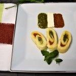 Schnelle Mozzarella Rolle