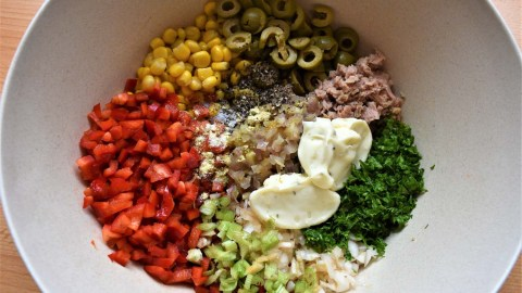 Thunfischsalat Zubereitung 3