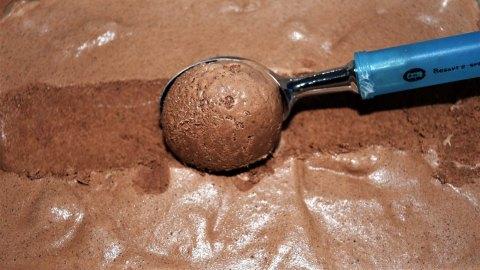 Zartbitter Schokoladeneis Zubereitung 8