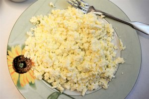 Zubereitung Käse