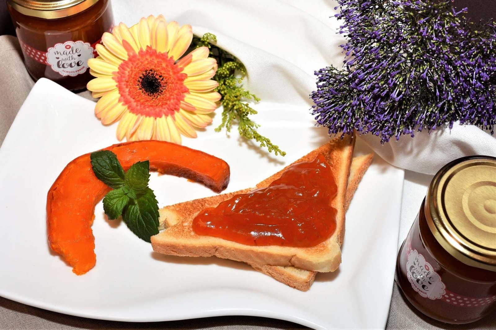 Kürbis Marmalade Rezept